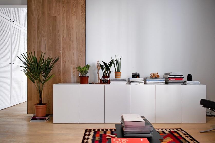 Современный интерьер обычной московской квартиры