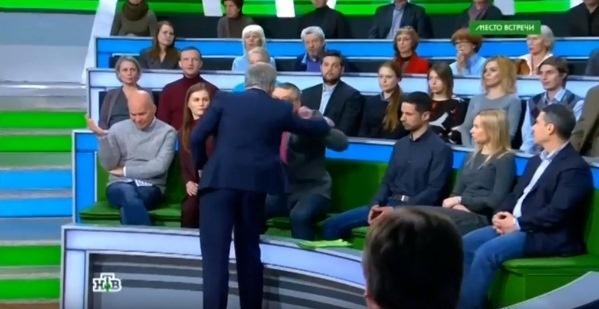 Ведущий НТВ Андрей Норкин в …