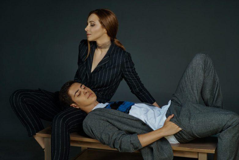 Актриса Екатерина Гусева показала сына и дочку
