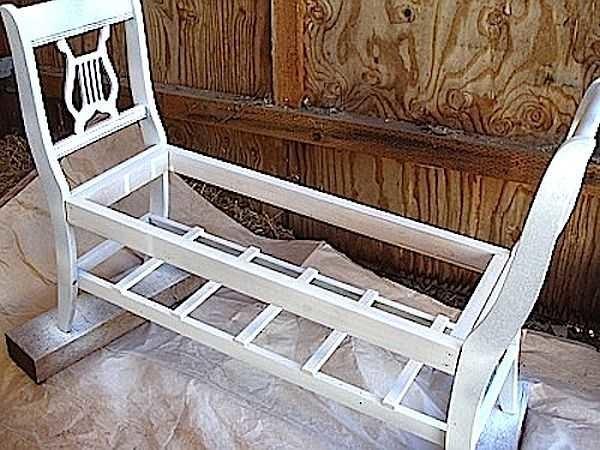 как отреставрировать деревянную скамейку того