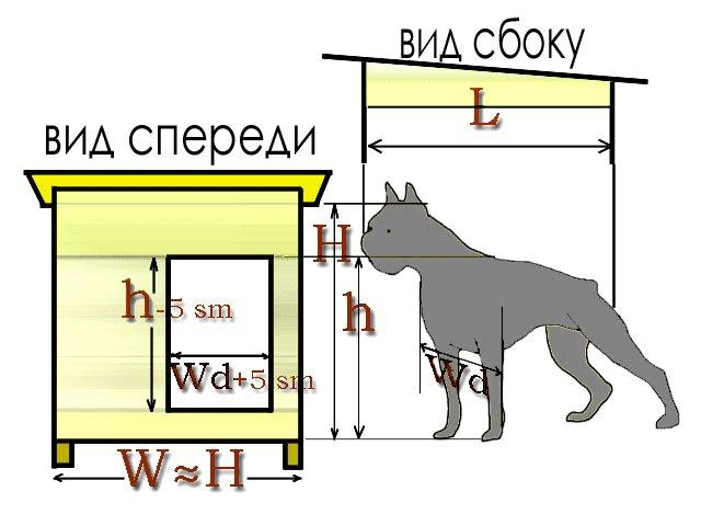 Зимняя будка для собакена Рукожоп, сделай сам
