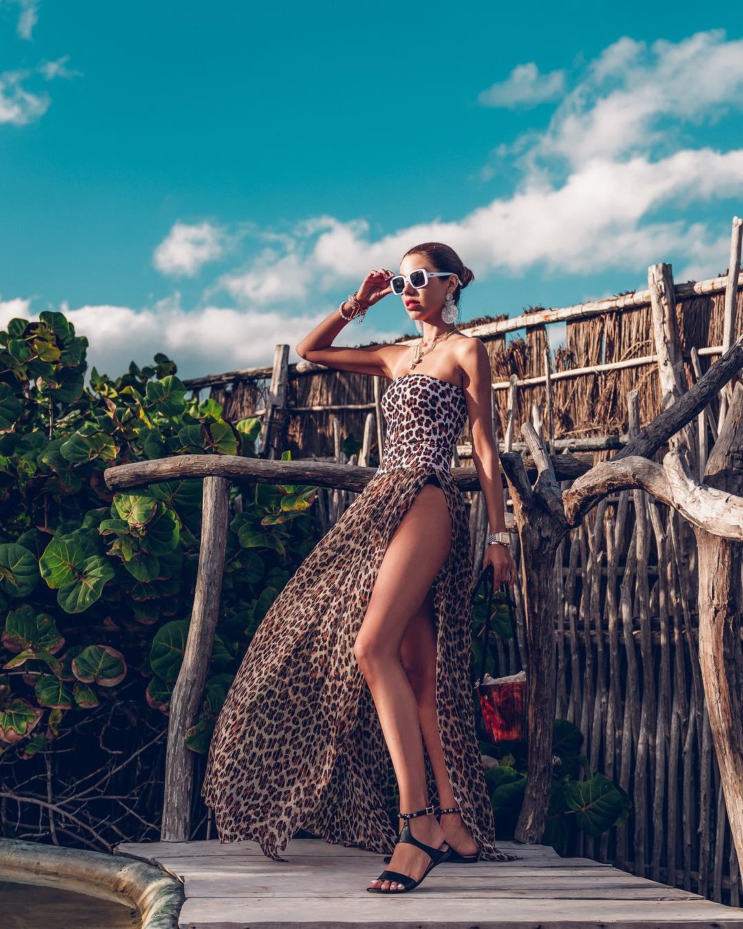 Модные образы на лето 2019 - подборка  стильных идей с платьями лучшее,мода,модный обзор,Наряды,образ,Платья,Стиль