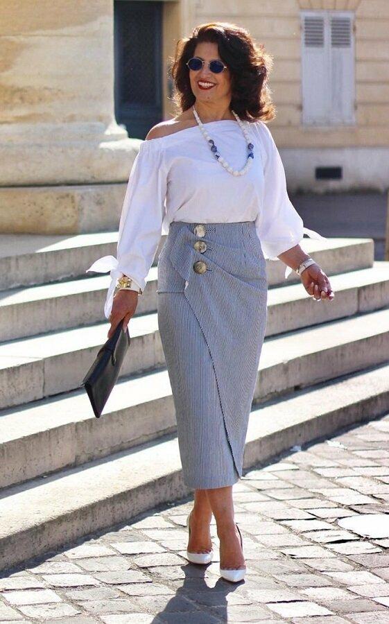 3 стильные летние юбки, которые стройнят и омолаживают