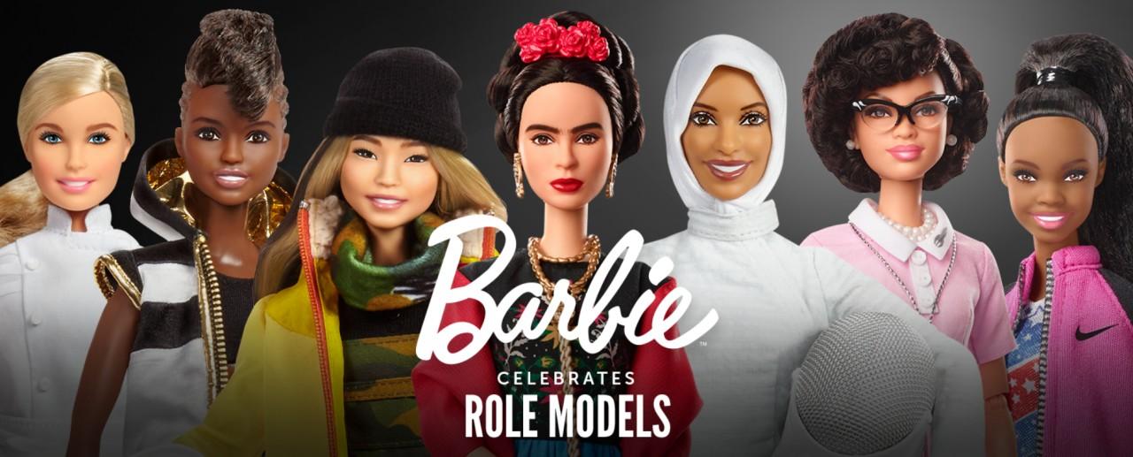Барби приняла облик знаменитостей