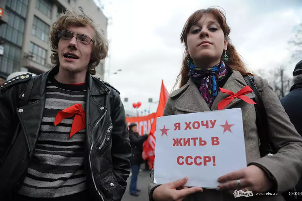 Давайте не будем врать про СССР,  и сравним уровень жизни СССР и США