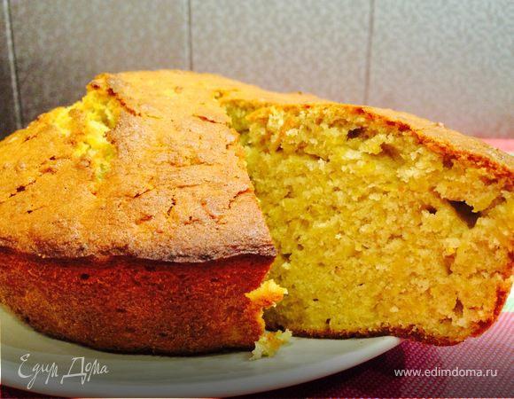 Простой пирог из тыквы