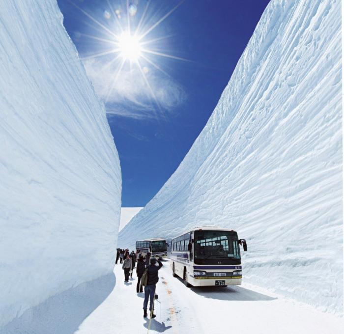 Прогулка по Tateyama Kurobe Alpine