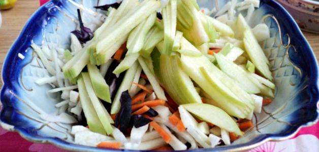 вкусный салат из репы