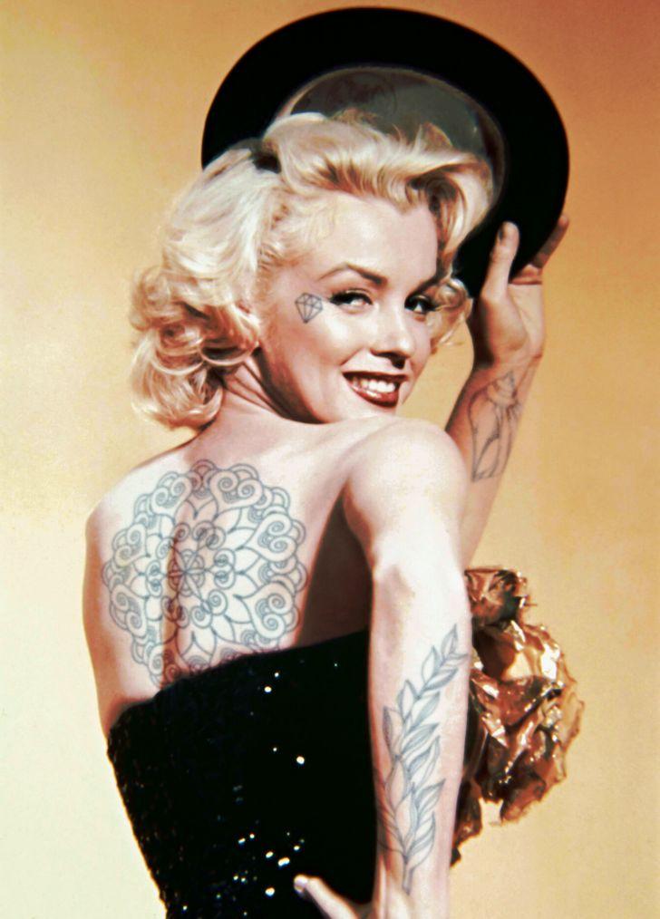 Очень противоречиво: как бы выглядели звезды в татуировках celebrities,актер,актриса,Заморские звезды,звезда,певец,певица,фильм,фото,шоубиz,шоубиз