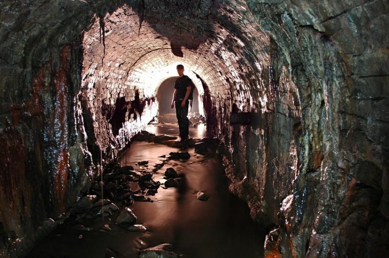 Подземелья Летнего сада Санкт - Петербург, подземные ходы