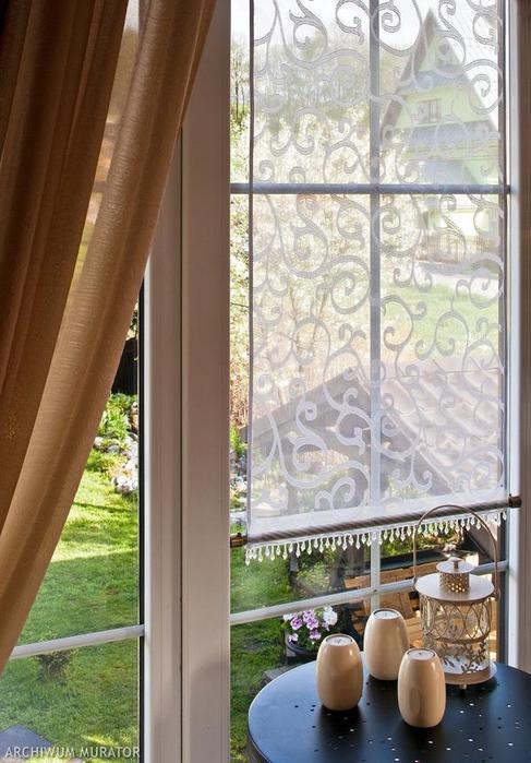 Декоративная панель-занавеска для металлопластиковых окон. Отличная идея! мастер класс