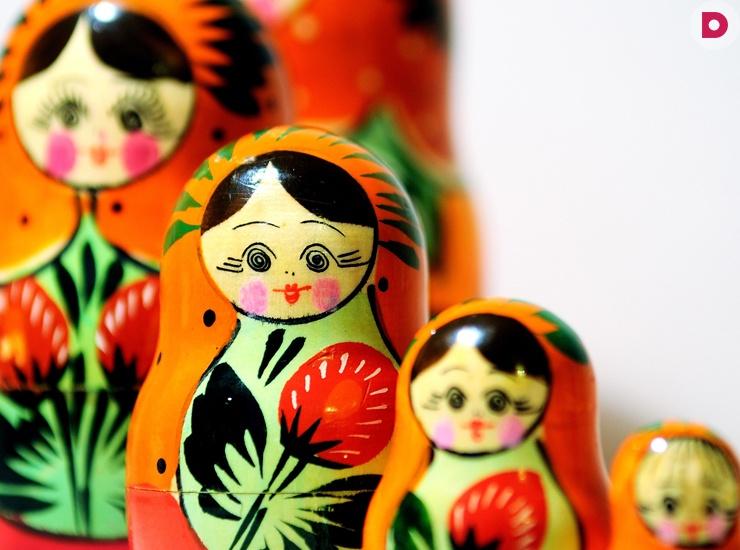 9 подарков: из России с любовью
