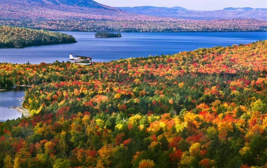 Осень в США: 50 красивых фот…