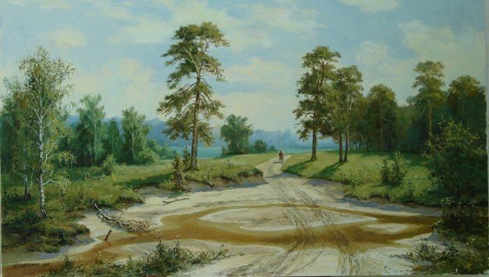 художник Николай Сапиенко картины – 09