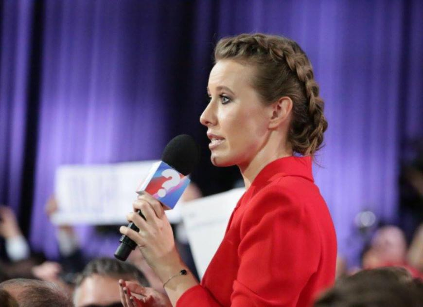 Кандидат против своей страны: Собчак не хочет, чтобы «ее налоги шли на Крым»