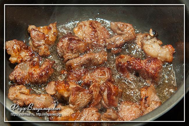Стифадо - тушеное мясо по-гречески