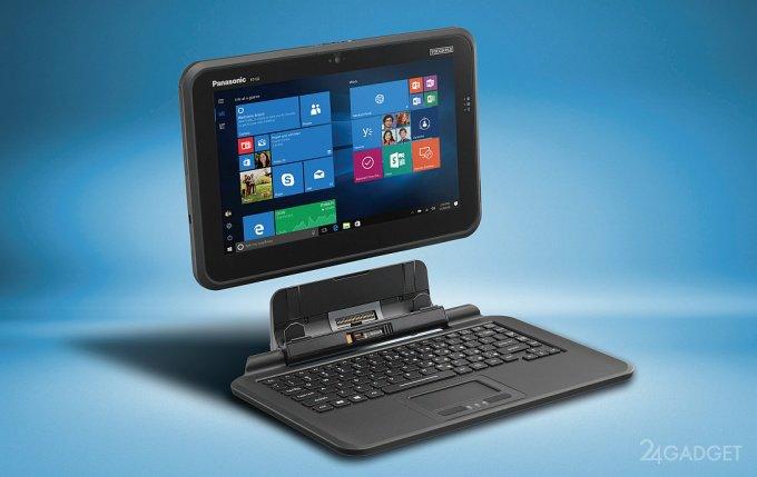 Toughpad FZ-Q2 — защищенный планшет с пассивной системой охлаждения