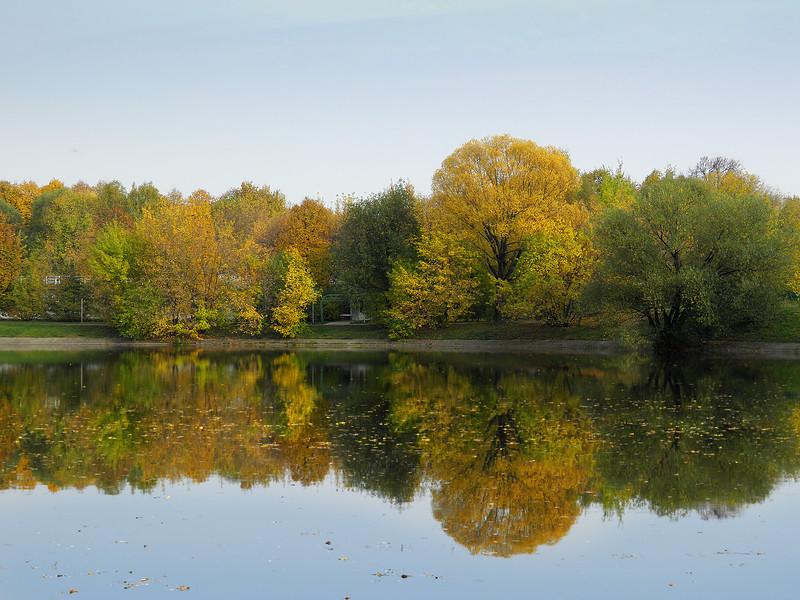 Золотая осень в Измайлово