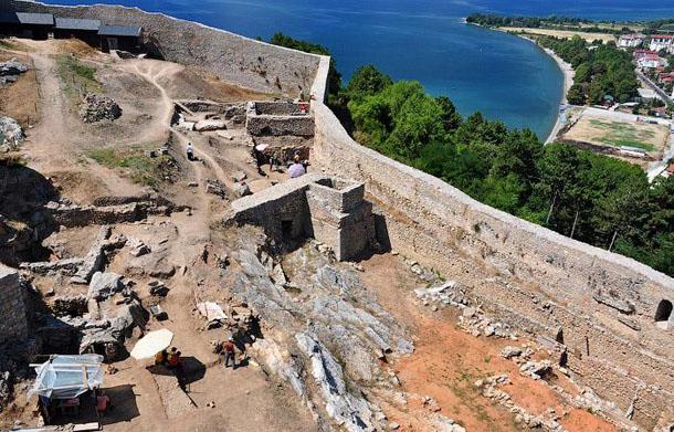 Крепость царя Самуила - раскопки