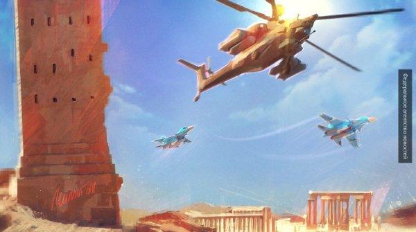 МИД РФ: летчики ВКС РФ продолжат защищать САР от террористов