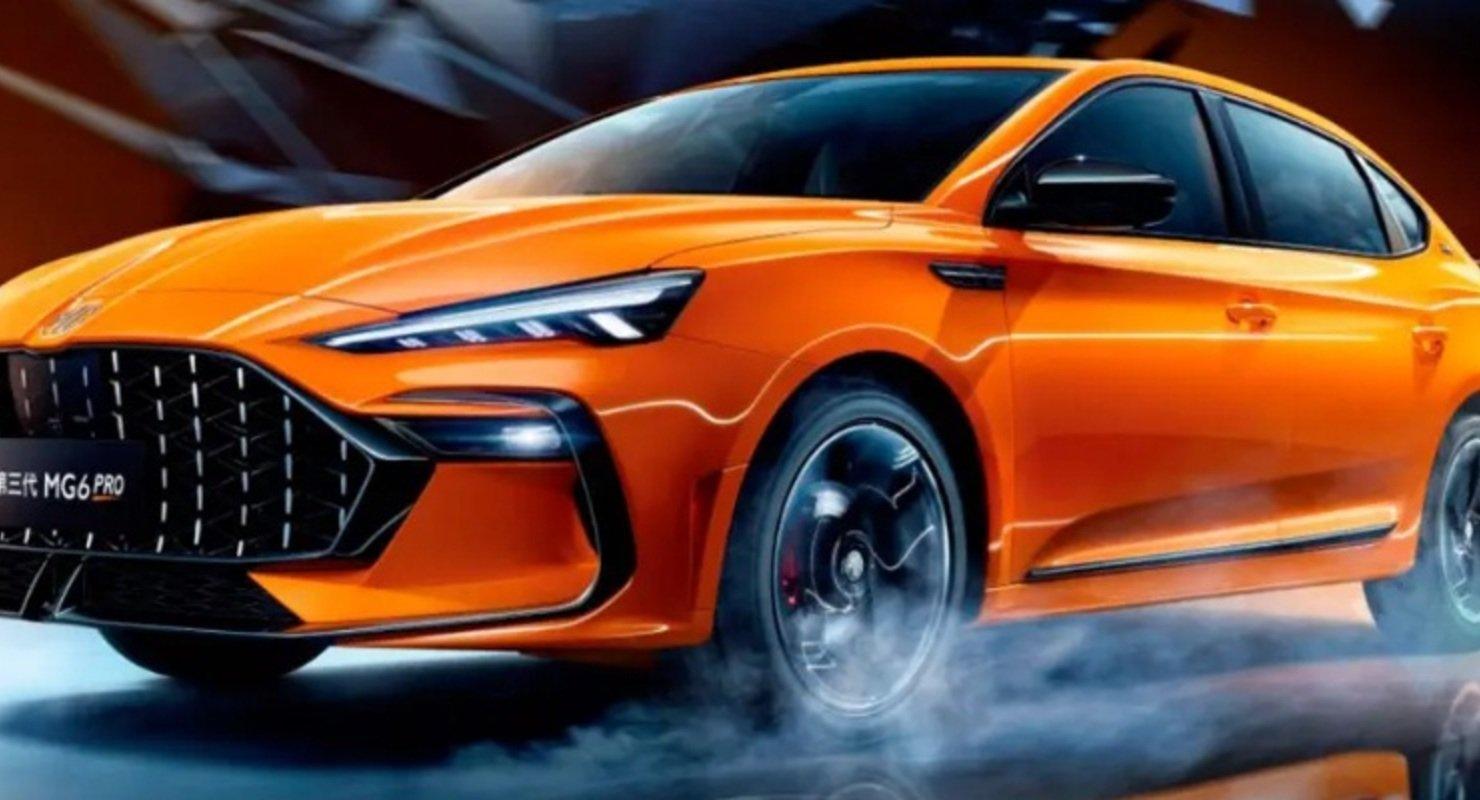 MG представила в Китае новую модель MG 6 Pro Автомобили