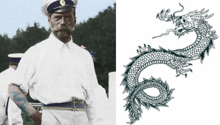 Как появились татуировки в России, и Какие рисунки были на теле русских царей