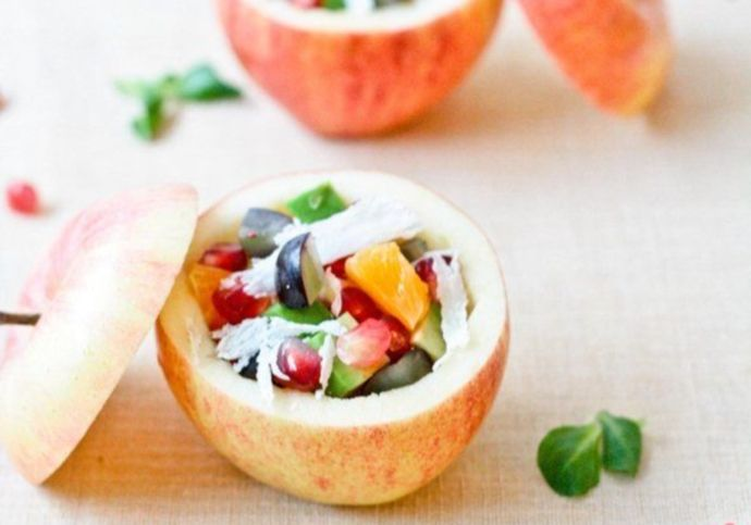 салат в яблоках (2)
