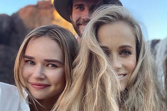 В сети появился редкий совместный снимок Лиама Хемсворта и его девушки Габриэллы Брукс Звездные пары