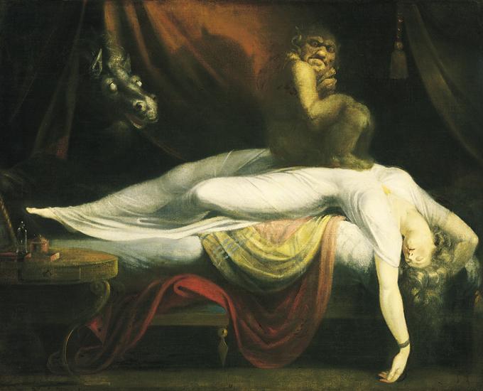 Странное явление: паралич во сне