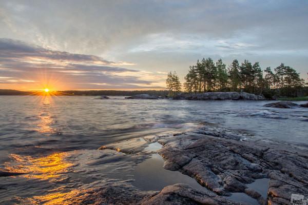 Онежское озеро глубокое озеро, природа, факты
