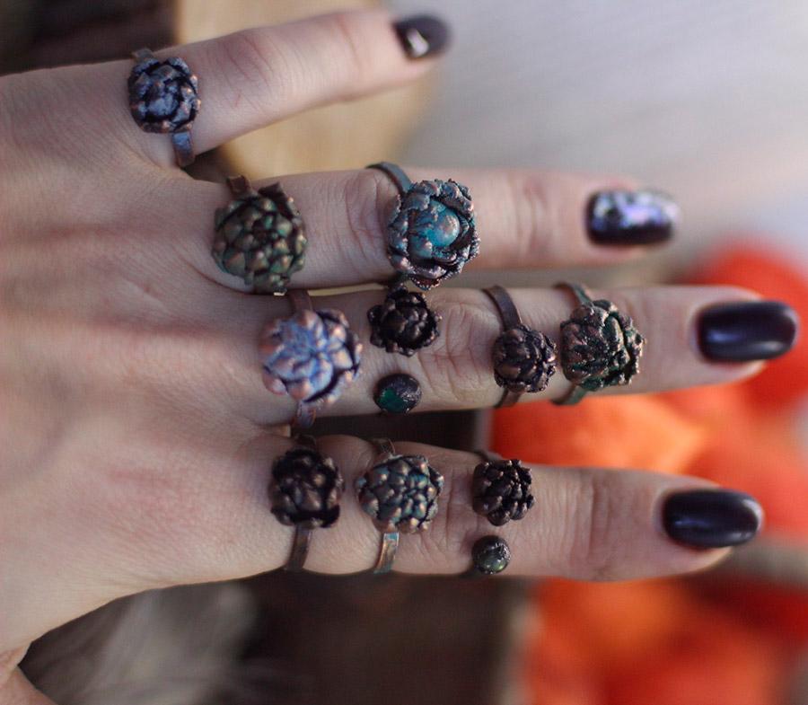 Кольца и браслеты в стиле бохо – шик и женственность