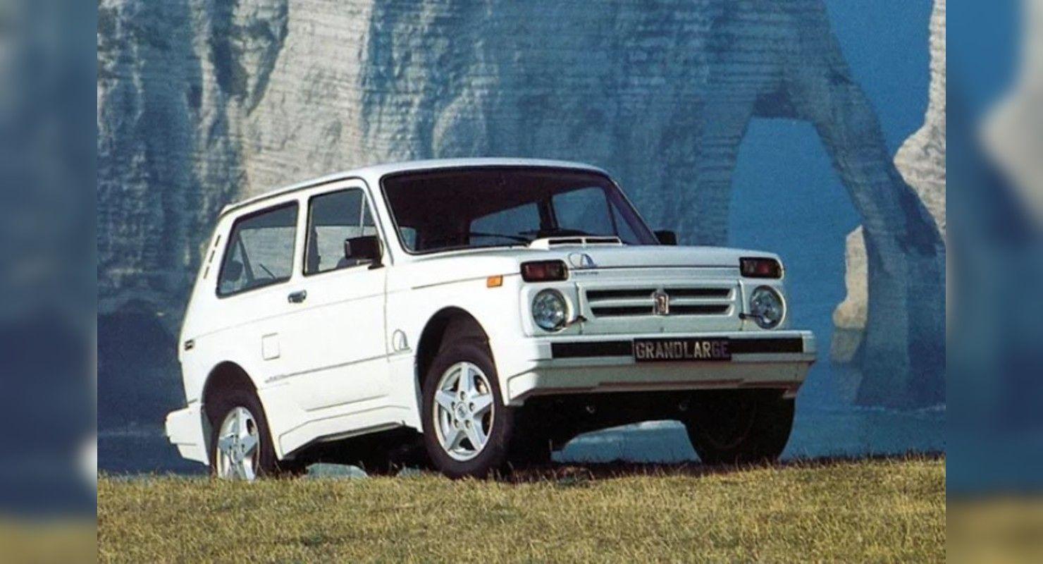 Сама элегантность: Вспоминаем редкую экспортную LADA 4×4 Niva Grand Large Автомобили