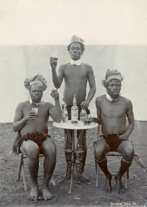 Особенности национальной охоты. Южная Африка, 1903 история, ретро, фото