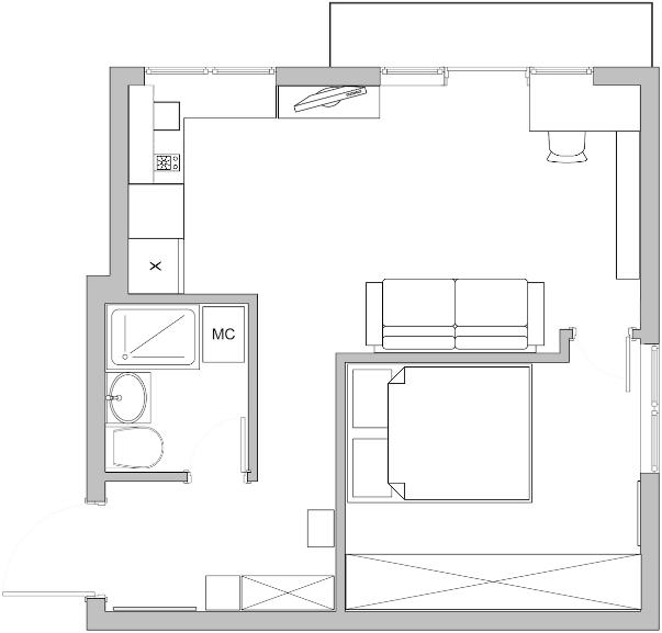 Из угловой однушки в хрущевке – просторная двушка! квартира, перепланировка, фото