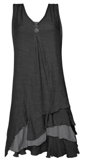 layered tunic dress: