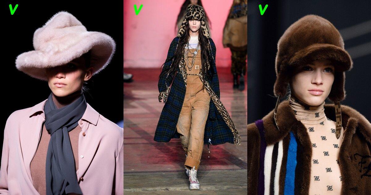 Модные модели меховых шапок и шляп