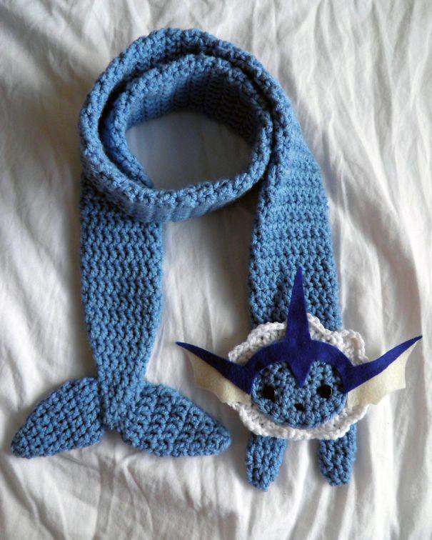 Как связать простой снуд (шарф) 37