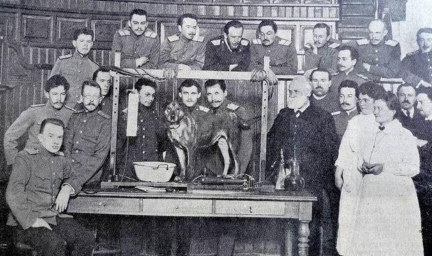 Иван Петрович Павлов в Императорской Военно–медицинской академии, 1913 год, Санкт–Петербург было, история, фото