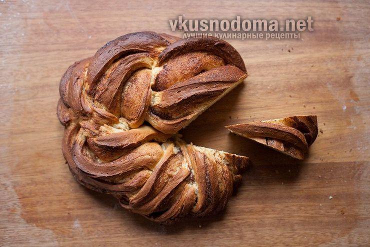 Домашние эстонские булочки с корицей