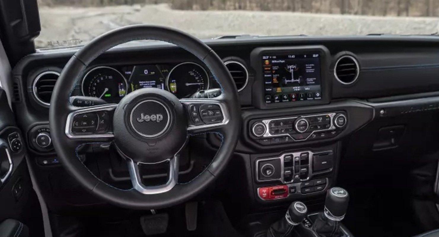 380 л.с. и 6,4 секунды до 100 км/ч: представлен Jeep Wrangler, который заряжается от розетки Автомобили