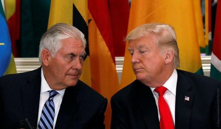 """За что госсекретарь США Рекс Тиллерсон назвал Трампа """"чертовым кретином""""?"""