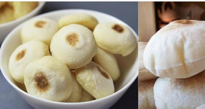 Мини-булочки на сухой сковороде: воздушные внутри превосходная основа для бутербродов