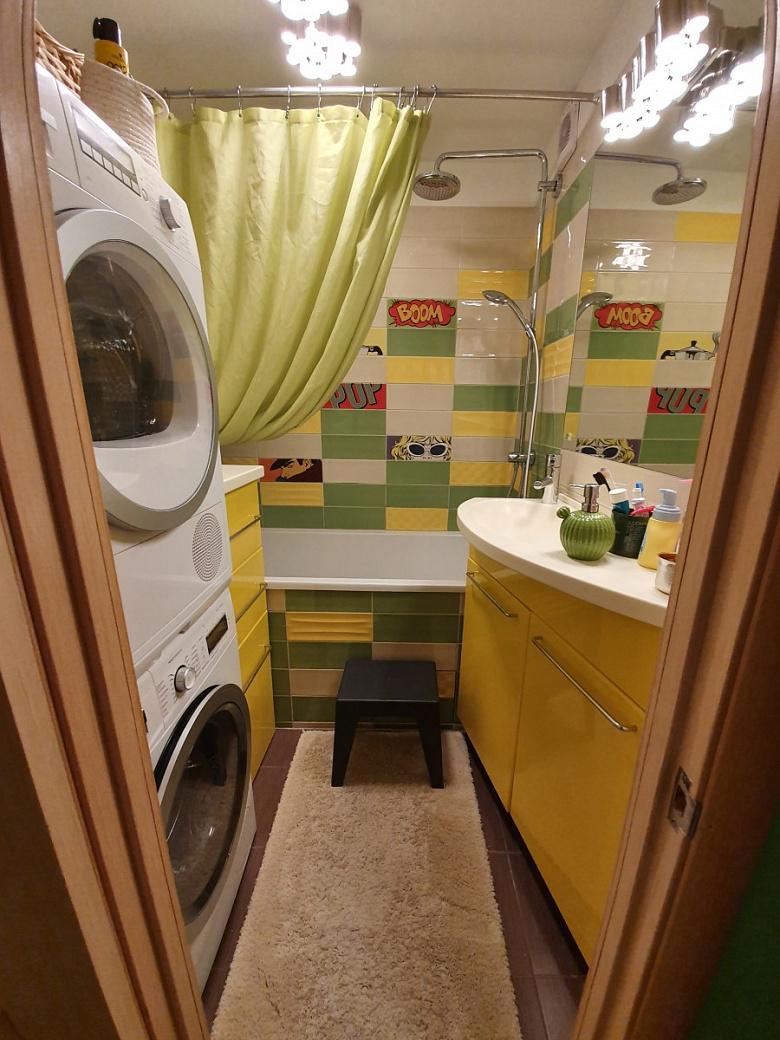 """""""Панельная радуга"""" - Ванная почти """"комната"""" идеи для дома,интерьер и дизайн"""