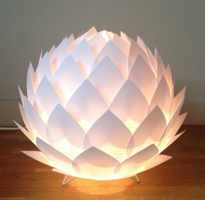Светильники из бумаги — стил…
