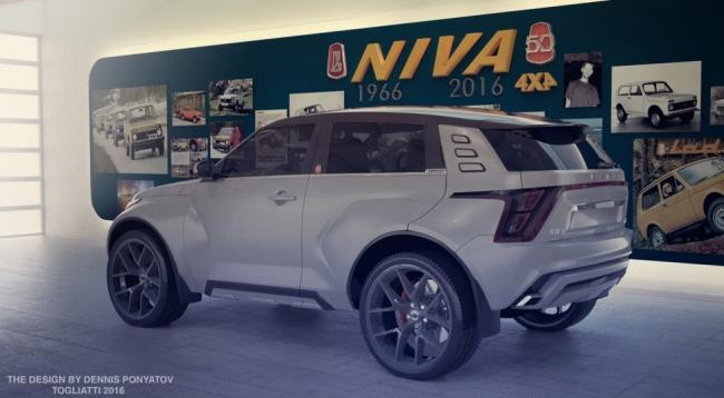 Таким может быть Lada 4×4 нового поколения