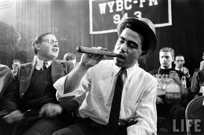 Соревнования по курению в США 50-х годов