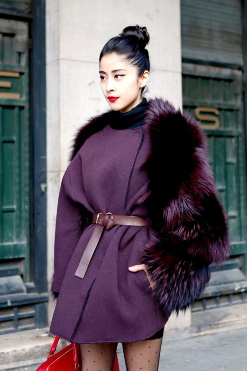 Пальто с мехом вновь на пике популярности: 22 потрясающих варианта
