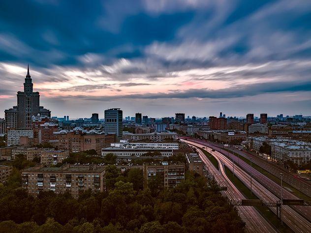 Москву ждет экстремальное падение атмосферного давления