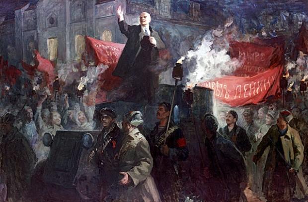 Ленин опередил захват Петрограда немцами