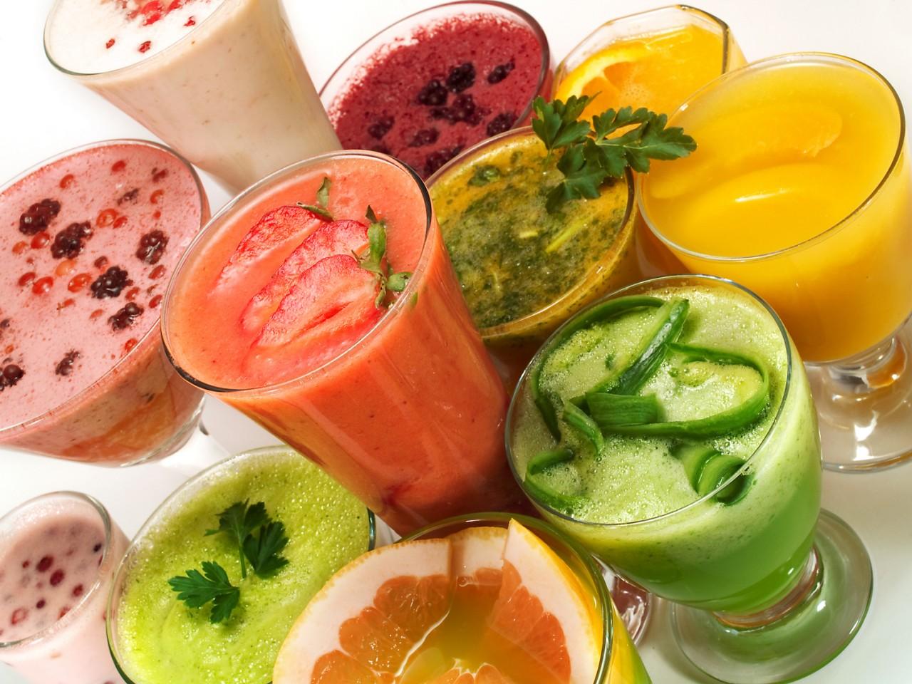 Лучшие коктейли для здоровог…